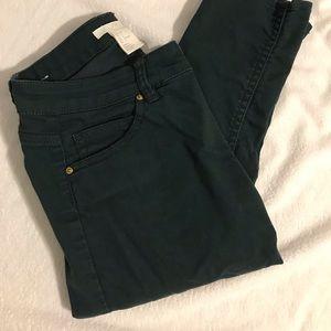 Dark teal pants
